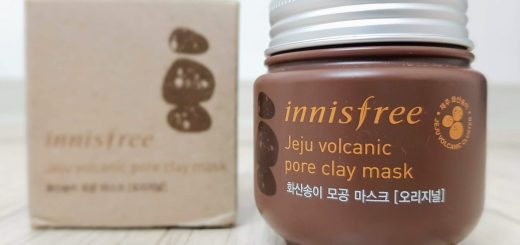 Innisfree Jeju Volcanic Pore Clay Mask Review