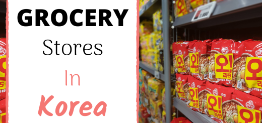 grocery stores in korea