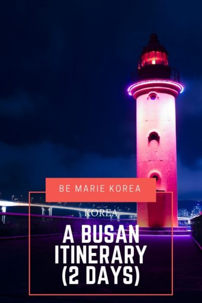 what to see in busan