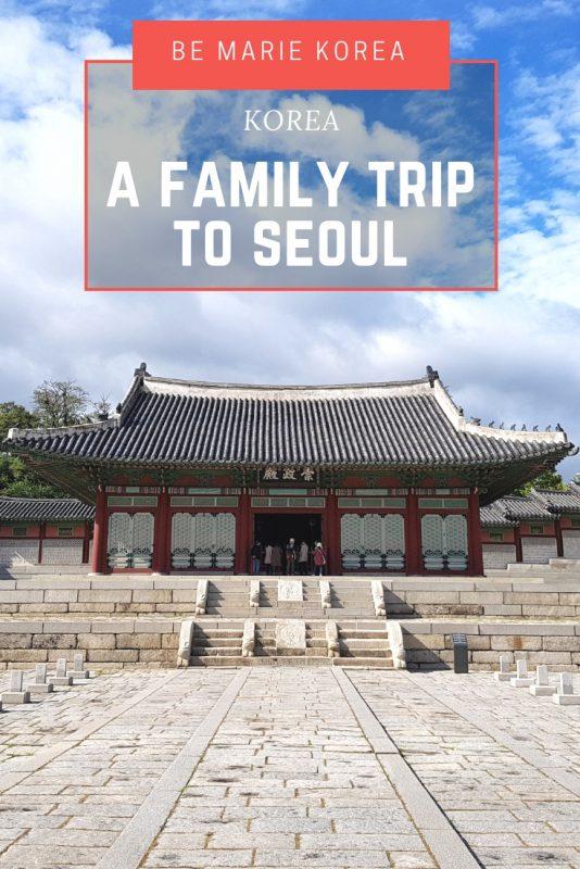seoul for family