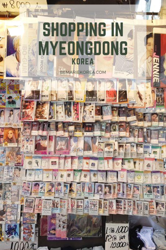 myeongdong stores
