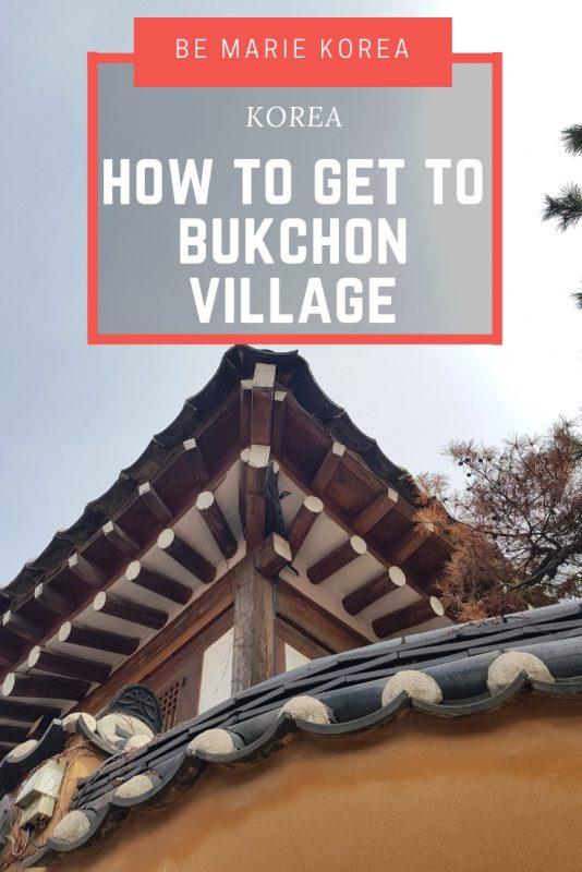 bukchon hanok village korea