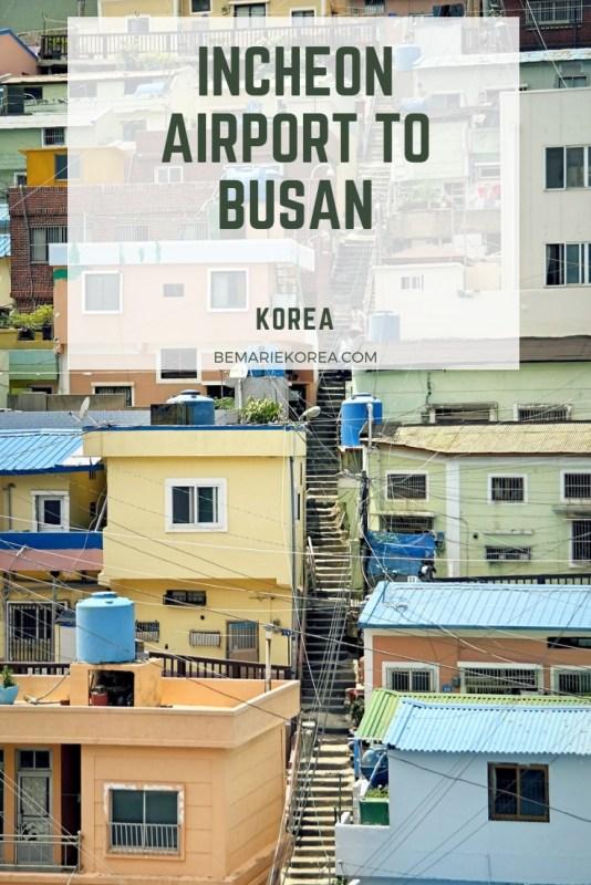 busan to incheon train
