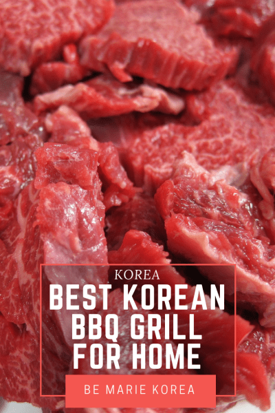 electric korean bbq grill