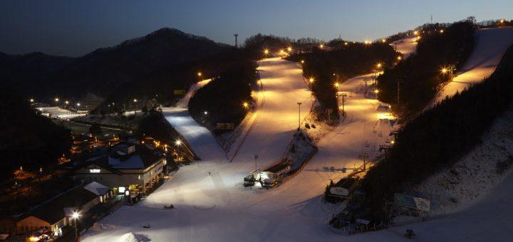best ski resorts in korea