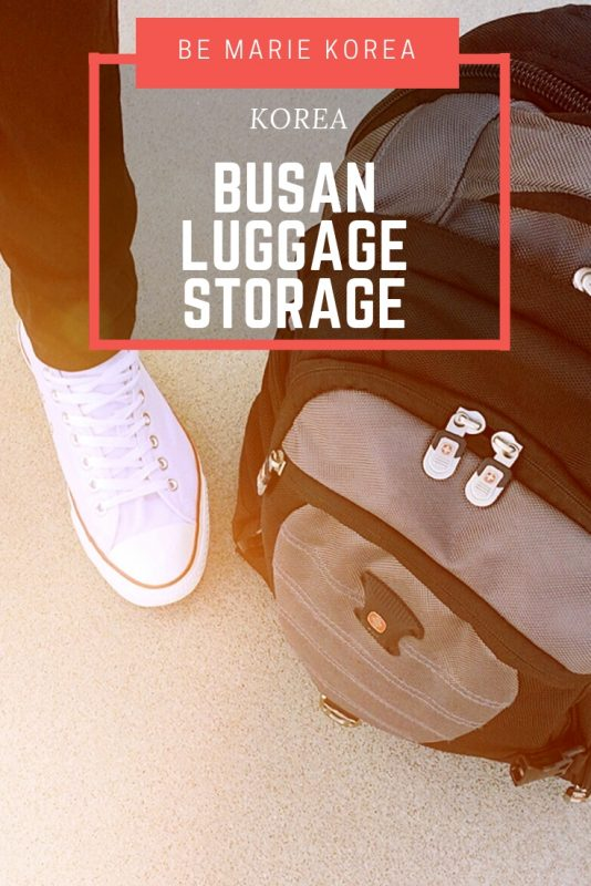 busan luggage storage