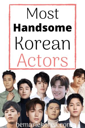most handsome man in korea