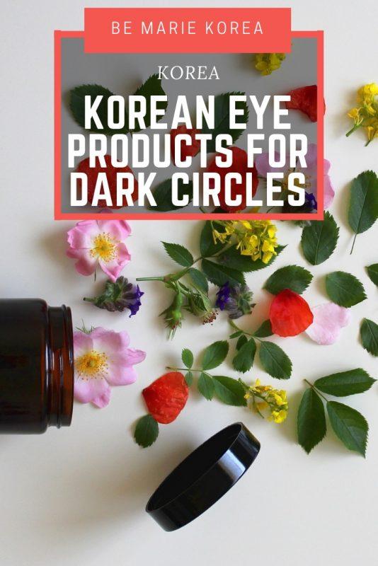 best korean eye cream dark circles