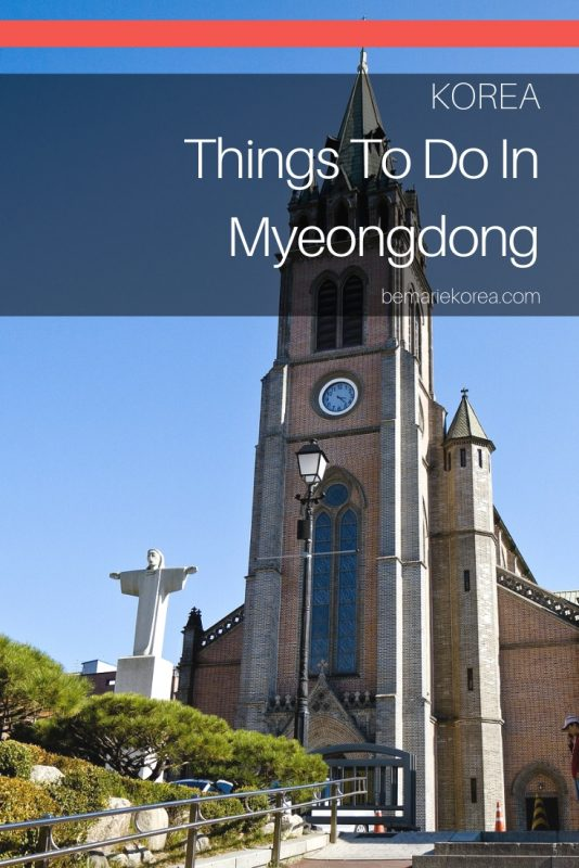 places of interest in myeongdong