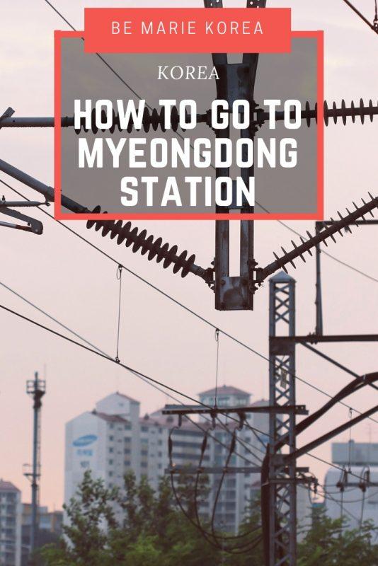 Gangnam To Myeongdong