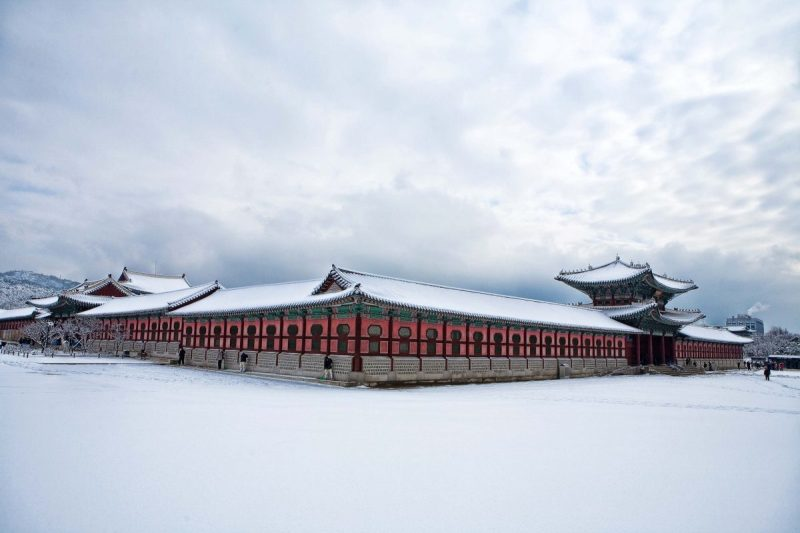 places to visit in korea during winter gyeonbokgung palace