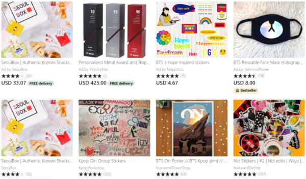 tiendas de kpop online