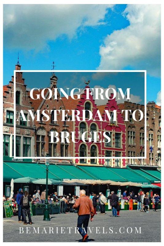 amsterdam bruges tour