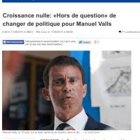Pourquoi Manuel Valls ne changera pas de cap.