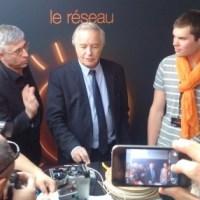 Alternance et féminisation des métiers: F. Rebsamen au cœur de l'emploi des jeunes... #Orange