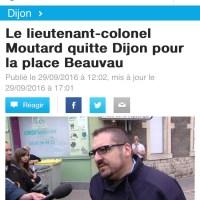 Moutard quitte Dijon, c'est fini ...