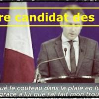 """#Macron: «Traître, pas convaincant et trop proche de la finance"""", l'avis des français ..."""