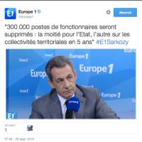 «Suppressionalisme (politique)» de Nicolas #Sarkozy, ça le reprend …