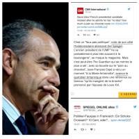 Pauvre JF Copé, le monde entier se moque (CNN, Spiegel, etc..)