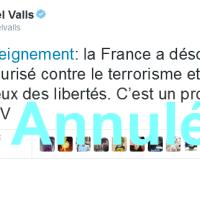 #LoiRenseignement: Manuel #Valls censuré par le Conseil Constitutionnel...