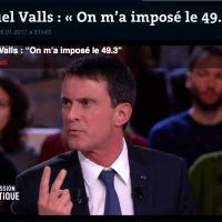Le Grand Prix de l'humour (politique) attribué à M. #Valls : « On m'a imposé le 49.3 » ...