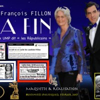 #AffaireFillon: LA LA FIN [the END] Affiche & revue de presse...