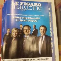 Présidentielle: le Quinté+ du Figaro, [Jeu visuel]...