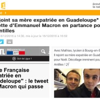 """Et Emmanuel #Macron inventa """"l'île de la Guyane"""". «Géographie de l'ignorance» Acte2 ..."""