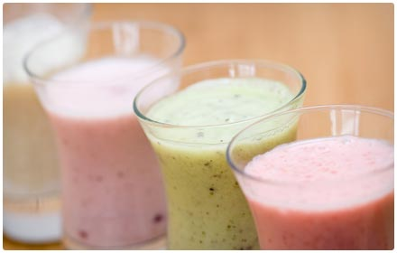 protein fruit smoothie