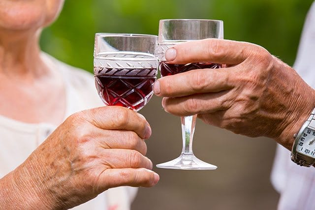 Wine to live longer
