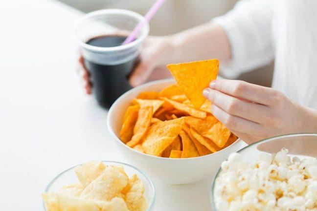 Cut back on junk food