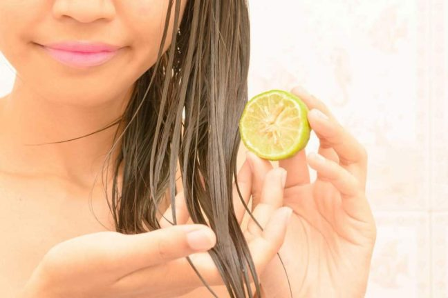 Lime for hair