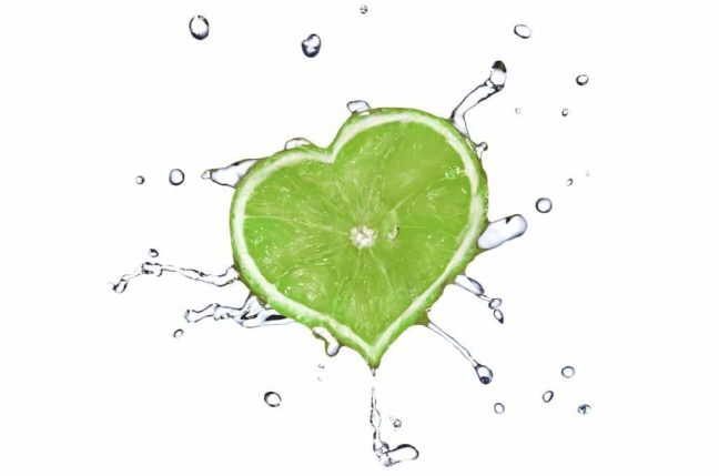Lime for heart health