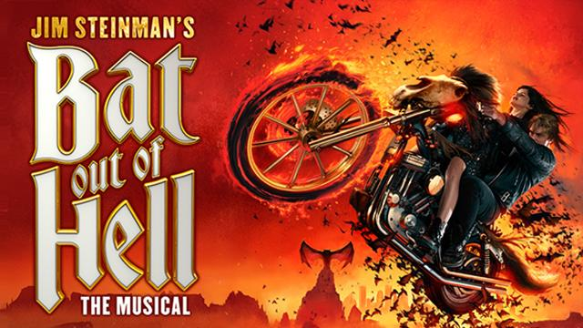 Jim Steinman's Bat Out of Hell – The Musical at the Dominion Theatre poster