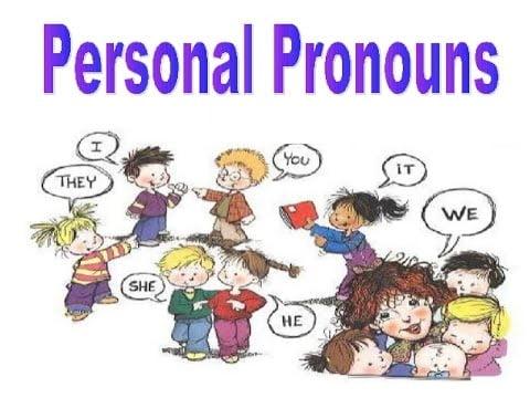 Ficha de Trabalho – Personal Pronouns (1)