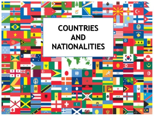 Ficha Informativa – Countries and Nationalities (1)