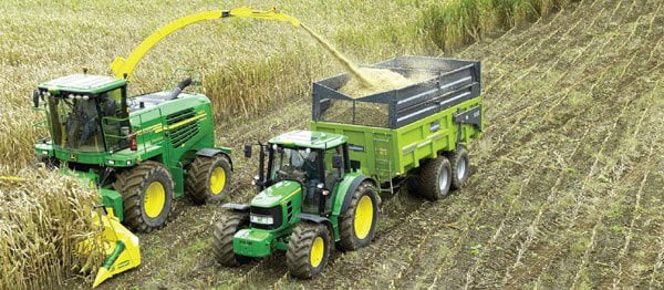 A agricultura moderna