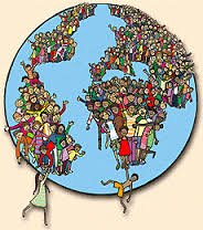 Densidade populacional e vazios humanos