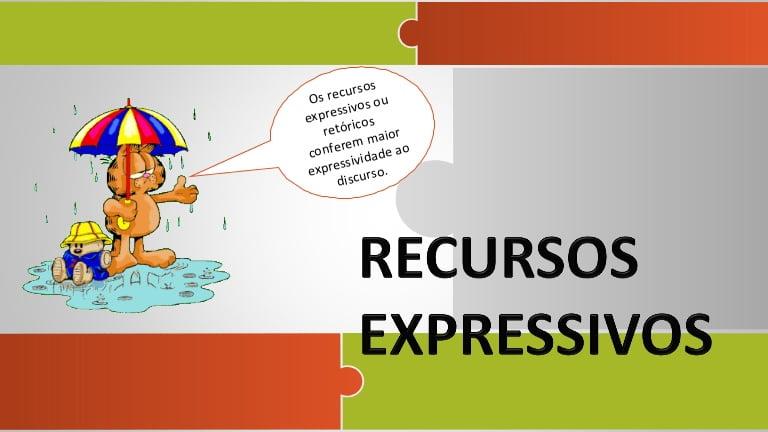 Os Recursos expressivos