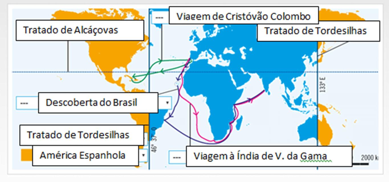 Ficha de Trabalho – Expansão dos Impérios Peninsulares (1) – Soluções