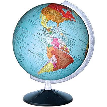 Ficha de Trabalho – Formas de representação da Terra (1) – Soluções