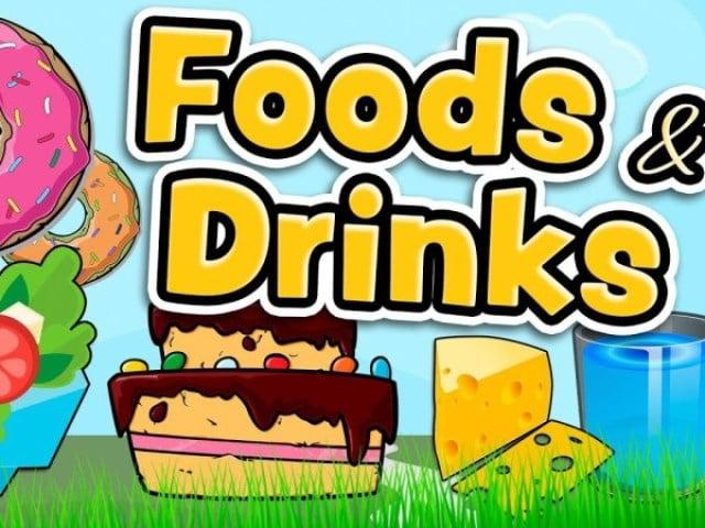 Ficha de Trabalho – Food and drinks (1)