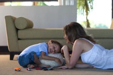 Foto: Madre e hijo jugando juntos.©GTRESONLINE