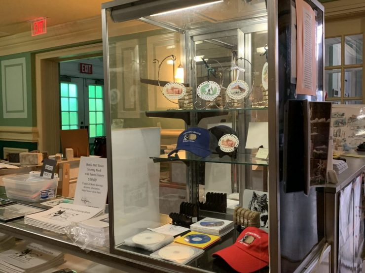 Bemis Museum's Company Store Display Counter