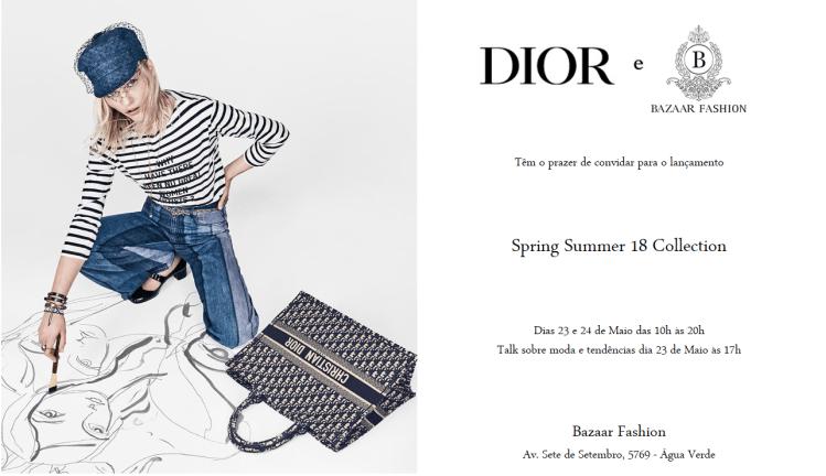 Dior aterrissa na Bazaar Fashion