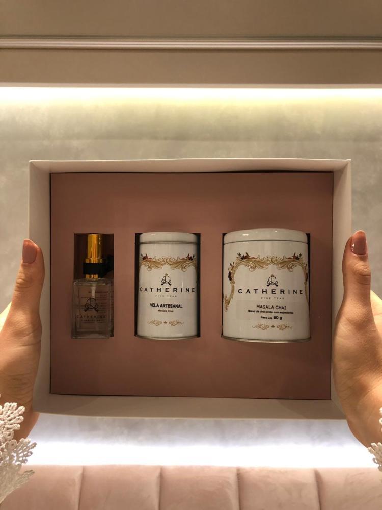 Catherine Fine Teas lança kits exclusivos para o Dia dos Namorados