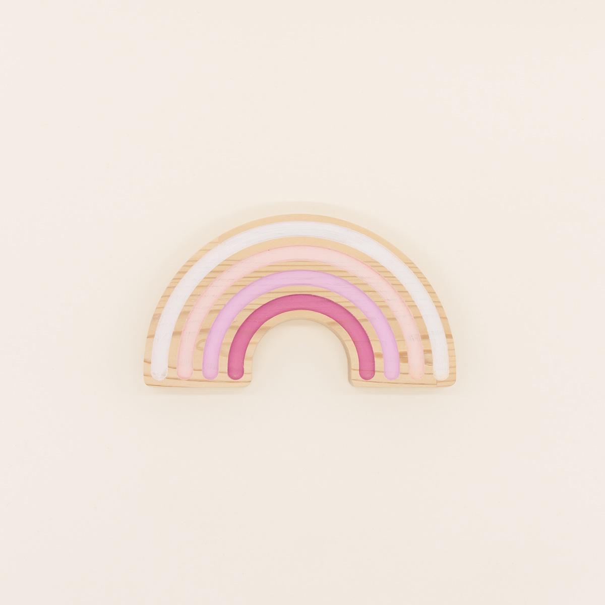 Arcoíris Canastilla Rainbow The Little Revolution Mordedor Canastilla Rainbow The Little Revolution Multicolor Rosa