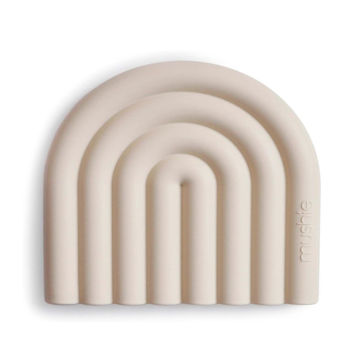 Mordedor silicona Arcoiris Mushie Shifting Sand