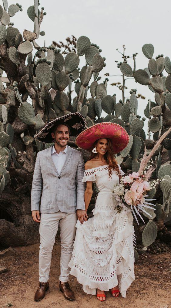 una boda pequeña te permite jugar mucho más con los estilos y sacarles provecho