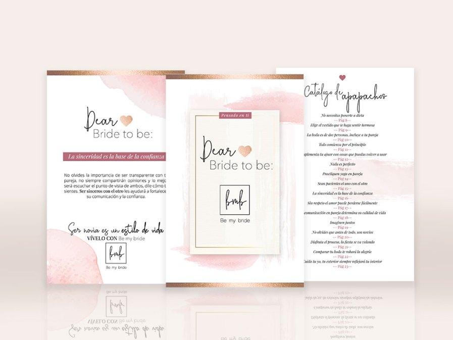 Dear bride to be, un libro para la novia actual